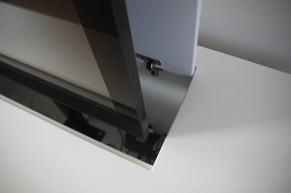 tv kast lift op maat wit