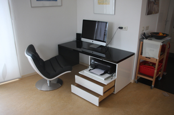 bureau thuis design