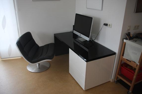 Design Bureau Hoogglans Wit.Kantoor Meubels Op Maat Met Hoog Design Nivo Speciaal Voor Zzp Er