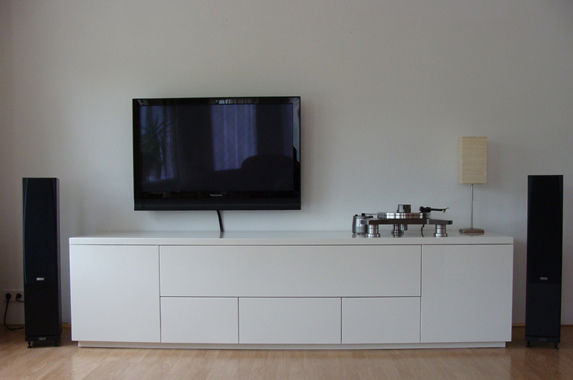 Audio Tv Media Kast Op Maat