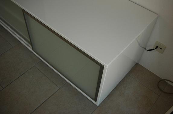 Media meubel schuifplank schuifdeuren op maat