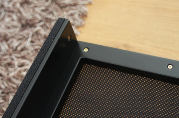 Media meubel zwevend luidspreker doek