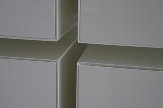 wandkast pastoe verstek op maat wit