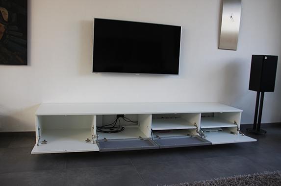 tv audio kast speakerdoek
