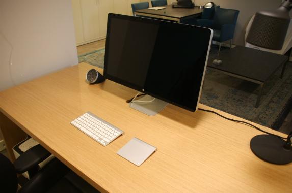 thuis kantoor bureau houtfineer op maat