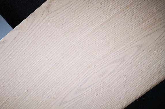 Lange design kast, eiken houtfineer op maat olie