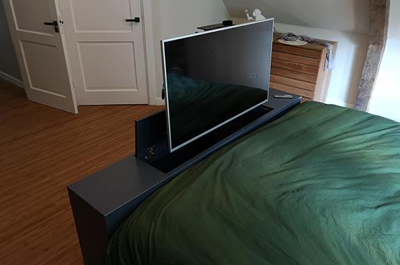 bed einde kast tv lift